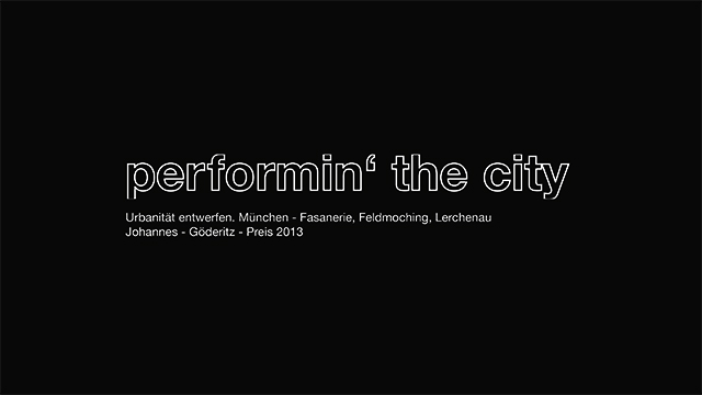 2013 performin' the city